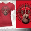 **NEW**Ladies Red King Crest T